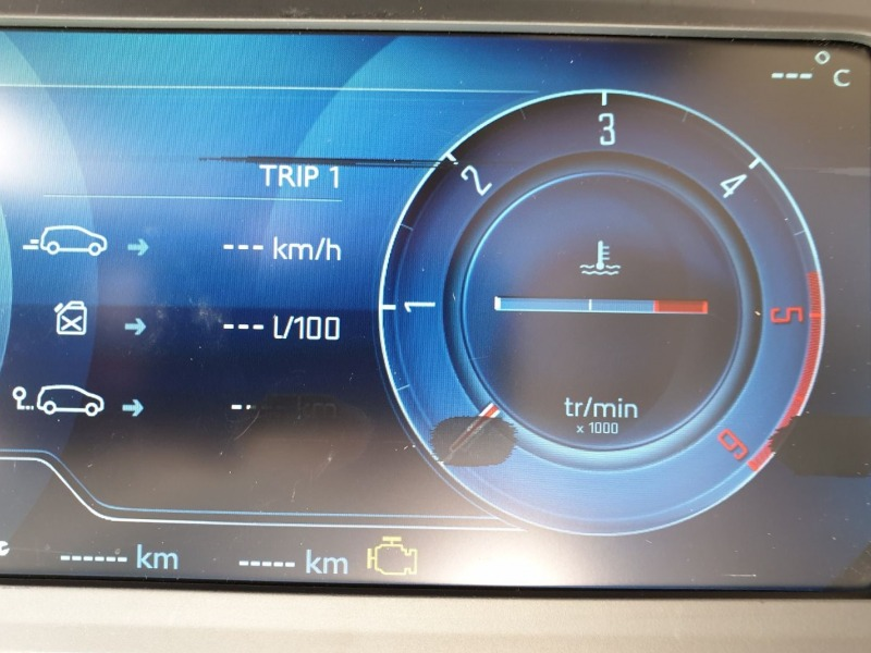 Citroen C4 Full LCD instrument panel