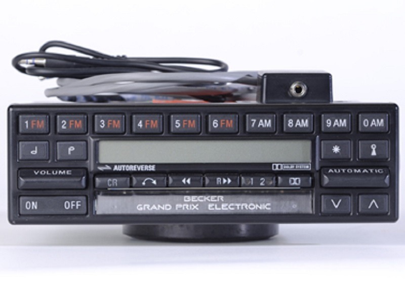 Classic MB SL car radio repair Becker BE754